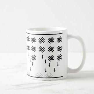 galactica classic white coffee mug
