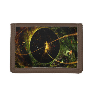 Galactica Space Travel Science Fiction Tri-fold Wallet