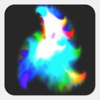 GalacticRainbow Square Sticker