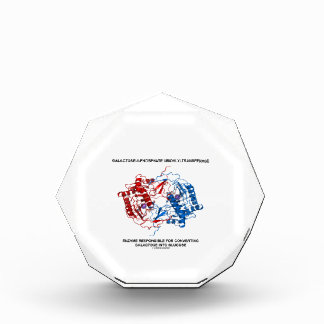 Galactose-1-Phosphate Uridylyltransferase Enzyme Acrylic Award
