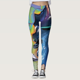 Galacy Bubbles Leggings