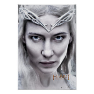Galadriel Close Up Poster