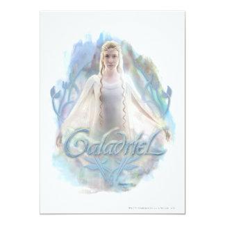 """Galadriel con nombre invitación 5"""" x 7"""""""