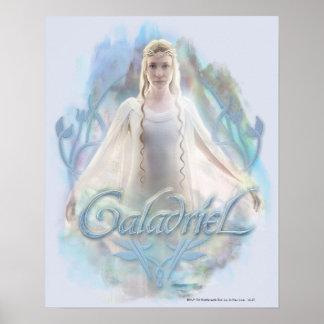 Galadriel con nombre poster