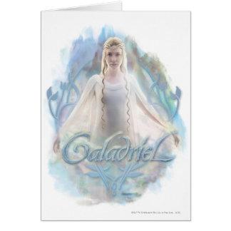 Galadriel con nombre tarjetas