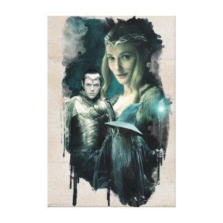 Galadriel, ELROND™, & Gandalf Graphic Canvas Print