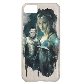 Galadriel, ELROND™, & Gandalf Graphic iPhone 5C Cover