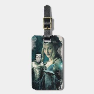 Galadriel, ELROND™, & Gandalf Graphic Luggage Tag