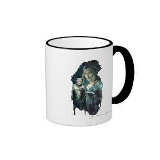 Galadriel, Elrond, & Gandalf Graphic Mugs