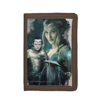 Galadriel, ELROND™, & Gandalf Graphic Tri-fold Wallets