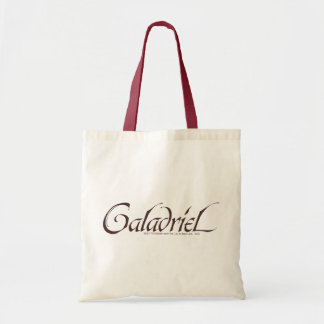 Galadriel Name Solid Budget Tote Bag