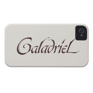 Galadriel Name Solid iPhone 4 Case-Mate Case