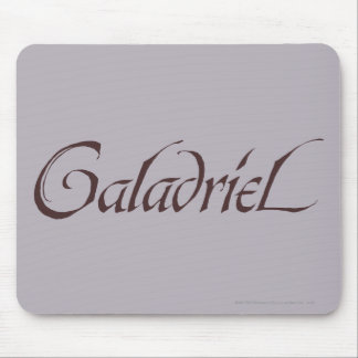 Galadriel Name Solid Mouse Pad