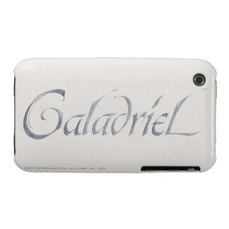 Galadriel Name Textured iPhone 3 Case