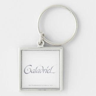 Galadriel Name Textured Keychain