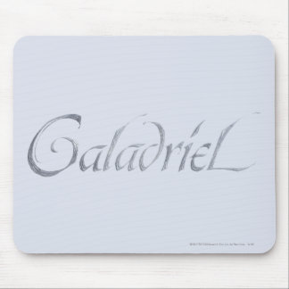 Galadriel Name Textured Mouse Pad