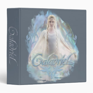 Galadriel With Name 3 Ring Binder