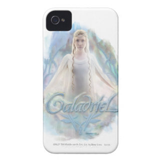 Galadriel With Name iPhone 4 Cover