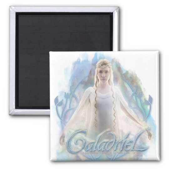 Galadriel With Name Magnet