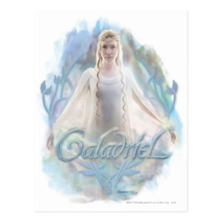 Galadriel With Name Postcard