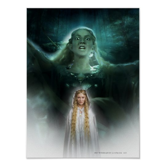 Galadriel's Powers Poster