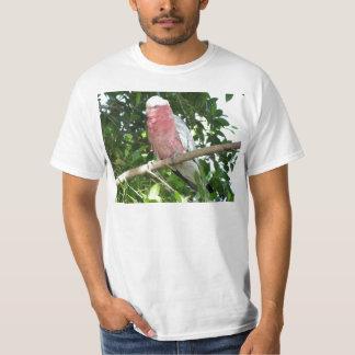 Galah (Cockatoo color de rosa de Breasted) Playera