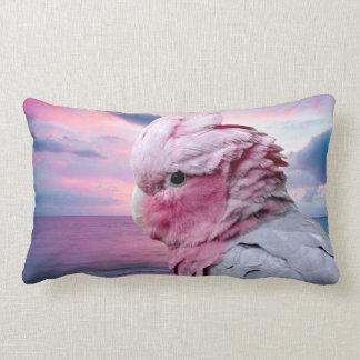 Galah Cockatoo Lumbar Pillow