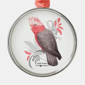 Galah Cockatoo Metal Ornament