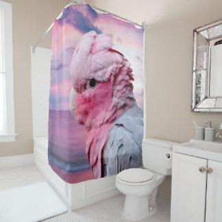 Galah Cockatoo Shower Curtain