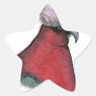 galah cockatoo, tony fernandes star sticker