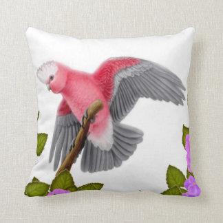 Galah Pink Cockatoo Pillow
