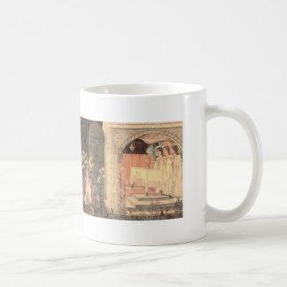 Galahad, Bors and Percival Achieve the Grail Coffee Mug