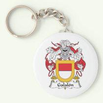 Galalon Family Crest Keychain