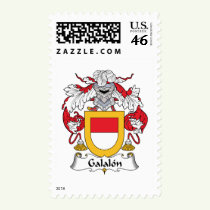 Galalon Family Crest Stamps