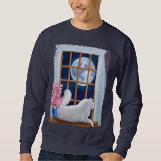 Galán la camiseta del gato de la luna