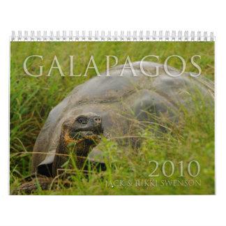 Galapagos 2010 calendar