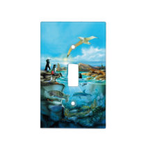 Galapagos Animals Light Switch Cover