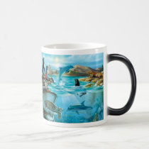 Galapagos Animals Morph Mug