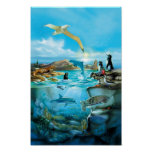 Galapagos Animals Poster