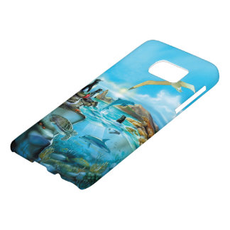 Galapagos Animals Samsung Galaxy S7 Case