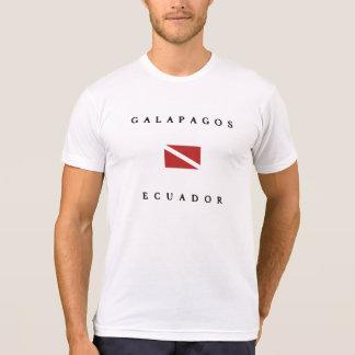 Galapagos Ecuador Dive Flag T-Shirt