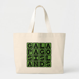 Galapagos Islands, Birthplace of Evolution Theory Bags