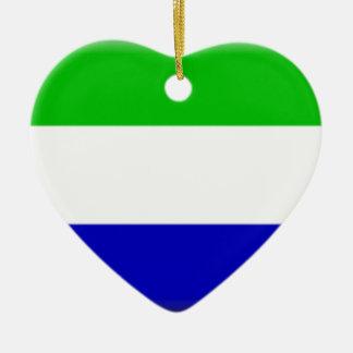 Galápagos Islands (Ecuador) Flag Ceramic Ornament