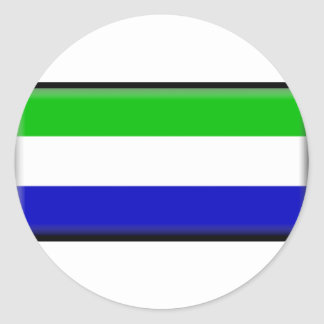 Galapagos Islands Flag Classic Round Sticker