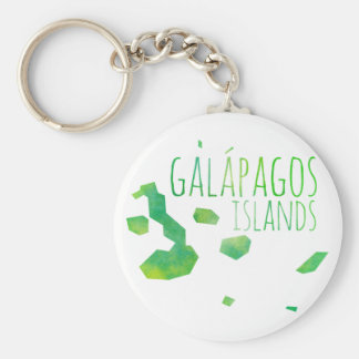 Galápagos Islands Keychain
