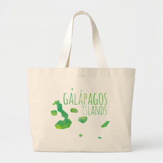 Galápagos Islands Large Tote Bag