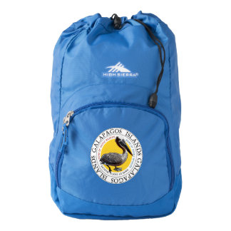 Galapagos Islands Pelican Backpack