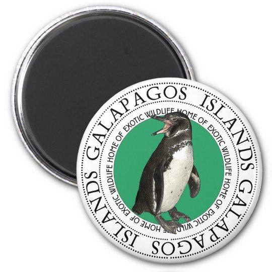 Galapagos Islands Penguin Magnet