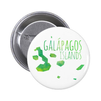 Galápagos Islands Pinback Button