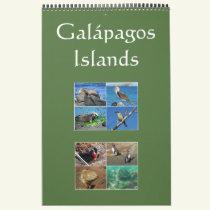 galapagos islands wildlife calendar
